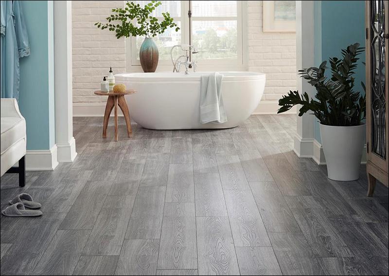 Nedvesség álló laminált padló, fürdőszobába