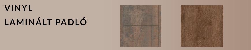 Vinyl laminált padló