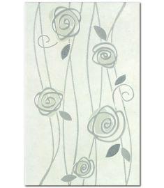 ANTARES INSERTO ROSE GRIGIO dekor 25x40 cm Arte Casa