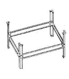 AQUALINE Lábszerkezet ülőkádakhoz, PIED 105