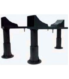 AQUALINE Lábtámasz fürdőkádakhoz 120-170 cm, PIED PVC