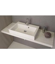 Sapho AVICE mosdópult 100x50 cm, tölgy antik fehér AV105