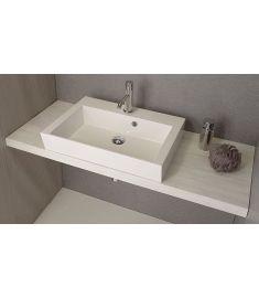 Sapho AVICE mosdópult 110x50 cm, tölgy antik fehér AV115
