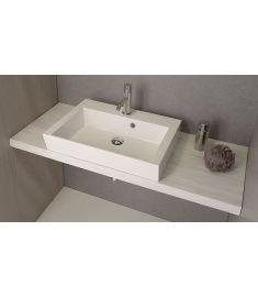 Sapho AVICE mosdópult 80x50 cm, tölgy antik fehér AV085