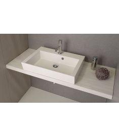 Sapho AVICE mosdópult 90x50 cm, tölgy antik fehér AV095