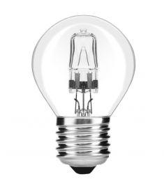 Avide CLASSIC MINI halogén izzó, 18W, E27, meleg fehér fényű AHMG27WW-18W