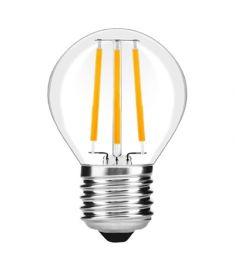 Avide FILAMENT MINI GLOBE retro LED izzó, E27, 4W, meleg fehér fényű ABLFMG27WW-4W