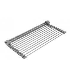 Deante Felhajtható edényszárító és szűrő, rozsdamentes acél, szürke, 37.5x28 cm ZZH011M