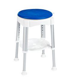 Ridder Forgó szék, állítható magasság, fehér/kék A0050401