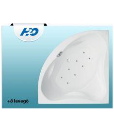 H2O MASSZÁZSRENDSZER +8 levegőmasszázs 07201803-036