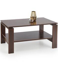 ANDREA dohányzóasztal, sötét dió színű, 110x60x52 cm, HM1699