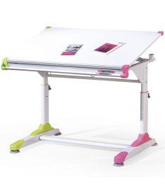COLLORIDO gyerek íróasztal, dönthető, állítható magasságú, két szín, 100x66x69-84 cm HM0524