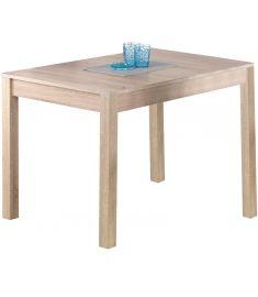 KSAWERY étkezőasztal, sonoma tölgy színű, 120x68x76 cm HM0149