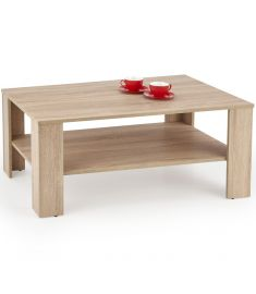 KWADRO dohányzóasztal, sonoma tölgy színű, 110x65x45 cm, HM1706