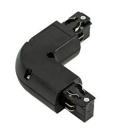 Italux TRACK L csatlakozó sínes világításhoz, fekete