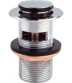 """AQUALINE KLIKLAK 1""""1/4 kis dugóval, króm, mosdó lefolyó vastagság 25-45 mm TF8001"""