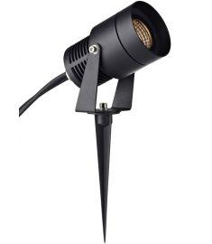 Markslöjd GARDEN 24 kültéri LED spot lámpa, COB, fekete, LED, 3W 106929