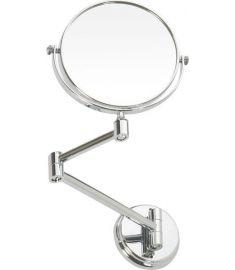 Bemeta OMEGA ECONOMY falra szerelhető kozmetikai tükör, 15 cm, króm 106301122