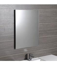 Sapho PLAIN fürdőszoba tükör 50x70 cm, lekerekített sarkokkal, akasztó nélkül 1501-25