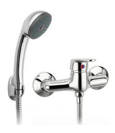 Ferro SMILE fali zuhany csaptelep, zuhanyszettel, króm BSM77