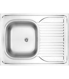 Deante TANGO egymedencés mosogató, csepegtetővel, rozsdamentes, 80x60x15 cm, szatén hatású ZM60110