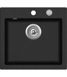 Teka CLIVO 50 S-TQ gránit mosogató, metál fekete, 49x45 cm 40148010