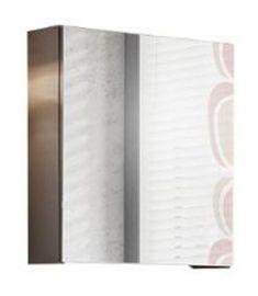 Comad TWIST GREY tükrös fürdőszoba szekrény 55x50 cm, 840, szürke twisgr5