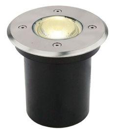 Viokef FRANCO kültéri beépíthető lámpa, GU10, 1x35W, ezüst 4053900