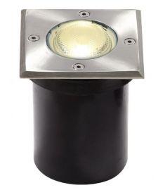 Viokef FRANCO kültéri beépíthető lámpa, GU10, 1x35W, ezüst 4054000