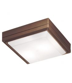 Viokef LEROS mennyezeti lámpa, E27, 1x18W, CFL,LED, barna 4049303