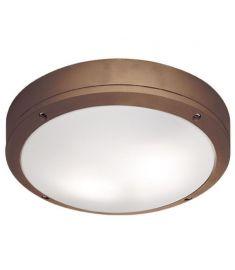 Viokef LEROS mennyezeti lámpa, E27, 1x18W, CFL,LED, barna 4049203