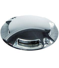Viokef LORD kültéri beépíthető lámpa, d7cm, LED, 1W, alumínium, 4176600