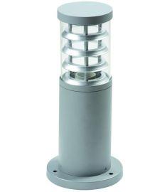 Viokef NAXOS kültéri állólámpa, 35 cm, E27, 1x30W, CFL,LED, szürke 4053500