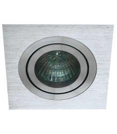 Viokef RICHARD beépíthető lámpa, GU10, 1x50W, ezüst 4106200