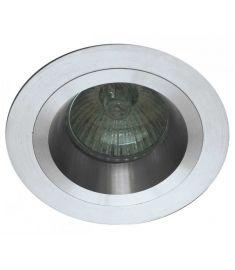Viokef RICHARD beépíthető lámpa, GU10, 1x50W, ezüst 4106300