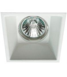 Viokef ROB beépíthető spot lámpa, szögletes, 8.3x10x8.3cm, GU10, 1x50W, fehér, 4183000