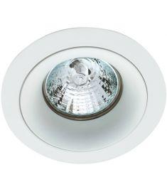 Viokef TIM beépíthető spot lámpa, kerek, d9.2cm, GU10, 1x50W, fehér, 4182700