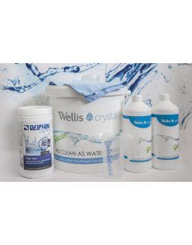 Wellis Crystal KOMPLETT vegyszercsomag 17020516-249